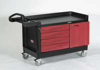 View: Rubbermaid TradeMaster 4548-88 4-Drawer and Cabinet, Large